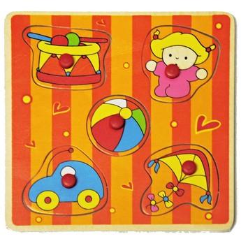 Puzzle - Mini puzzle Dítě a hračky