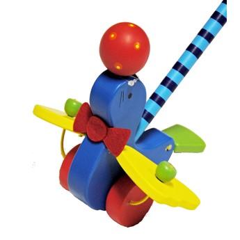 Tlačící hračka Žonglující tuleň