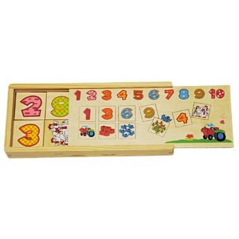 Hry a hlavolamy - Domino Číslice