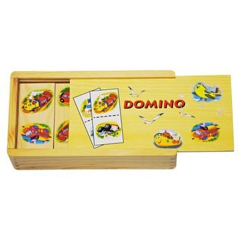 Hry a hlavolamy - Domino velké Doprava