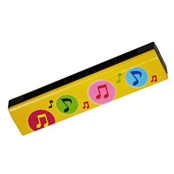 Dětské hudební nástroje - Foukací harmonika - Noty