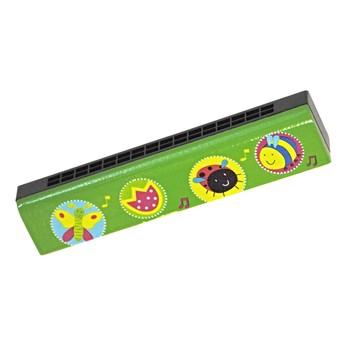 Dětské hudební nástroje - Foukací harmonika - Zvířátka
