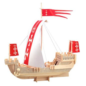 3D Puzzle - Loď Koga