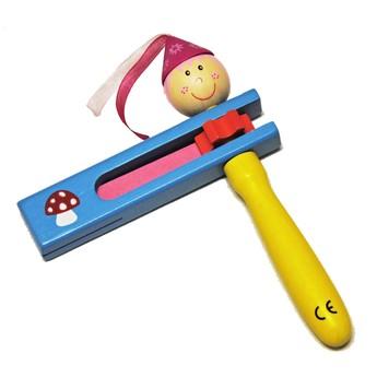 Dětské hudební nástroje - Dětská řehtačka - Muchomůrka