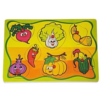 Puzzle - Puzzle Učíme se zeleninu