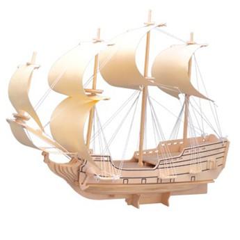 Puzzle - 3D Puzzle - Loď plachetnice Orel