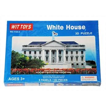 Puzzle - 3D Pěnové puzzle - Bílý dům