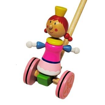 Pro nejmenší - Tlačící hračka - Princezna