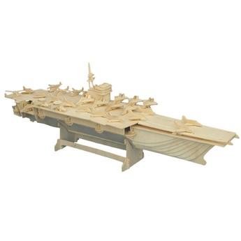 Puzzle - 3D Puzzle - Letadlová loď