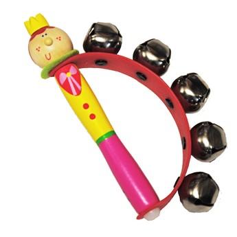 Dětské hudební nástroje - Rolničky do ruky - Princezna