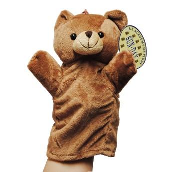 Divadla, loutky, maňásci - Maňásek na ruku Medvídě