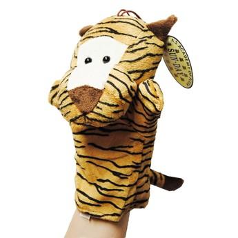 Divadla, loutky, maňásci - Maňásek na ruku Tygr