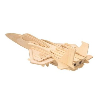 3D Puzzle - Stíhačka F-15 přírodní