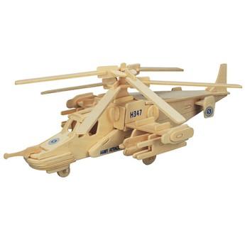 Puzzle - 3D Puzzle - Vrtulník KA-50