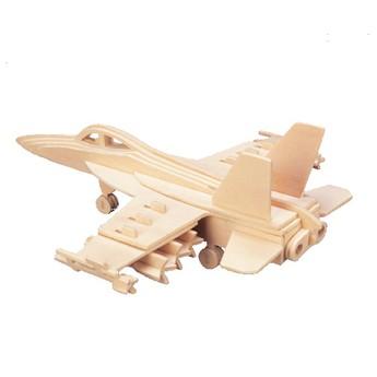 Puzzle - 3D Puzzle - Stíhačka F-18 Hornet