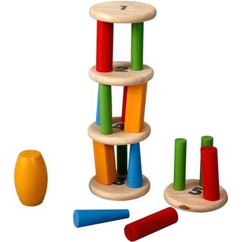 Motorické a didaktické hračky - Balancující věž