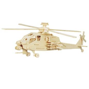 Puzzle - 3D Puzzle - Vrtulník Apache