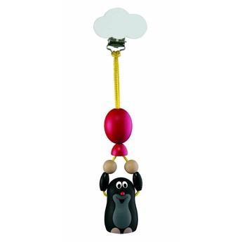Pro nejmenší - Závěs na kočárek Krtek s balónkem