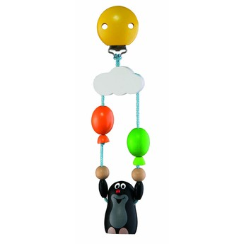 Pro nejmenší - Závěs na kočárek Krtek s balónky