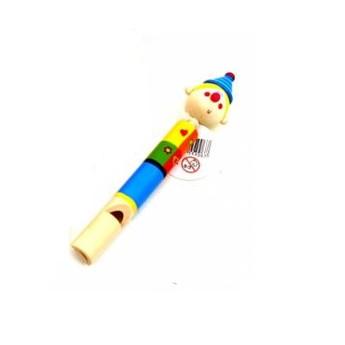 Dětské hudební nástroje - Dřevěná píšťalka - Kluk