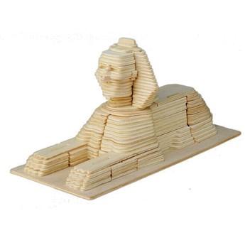 3D Puzzle - Sfinga