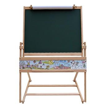 Školní potřeby - Oboustranná tabule + stolek 2v1, magnetická
