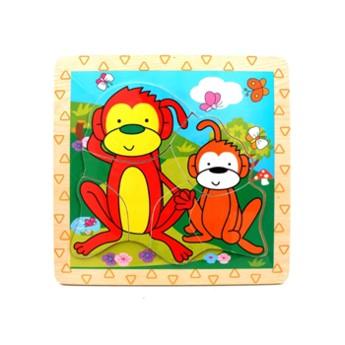 Puzzle - Mini puzzle Opičky