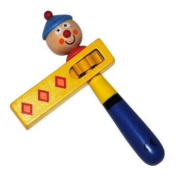 Dětské hudební nástroje - Dětská řehtačka Klaun