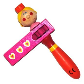 Dětské hudební nástroje - Dětská řehtačka Princezna