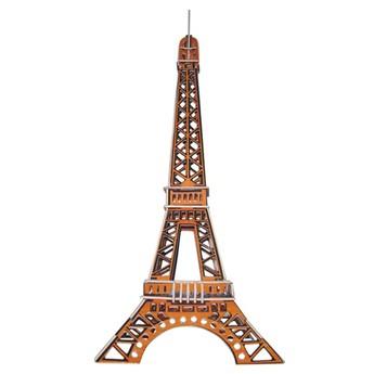 3D Puzzle - Eiffelova věž barevná