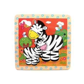 Puzzle - Mini puzzle Zebry