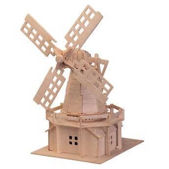 Puzzle - 3D Puzzle - Větrný mlýn