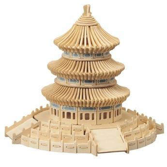 Puzzle - 3D Puzzle - Nebeský chrám