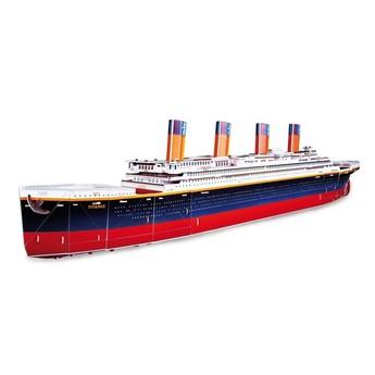 Puzzle - 3D puzzle - Titanic velký 80 cm