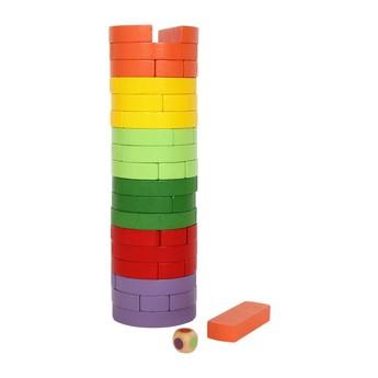 Motorické a didaktické hračky - Balanční věž kulatá
