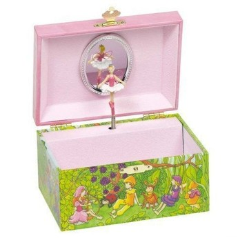 Pro holky - Hrací skříňka šperkovnice – Skřítci