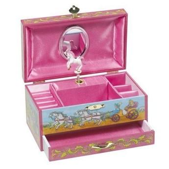 Hrací skříňka šperkovnice – Koník, Santa Lucia