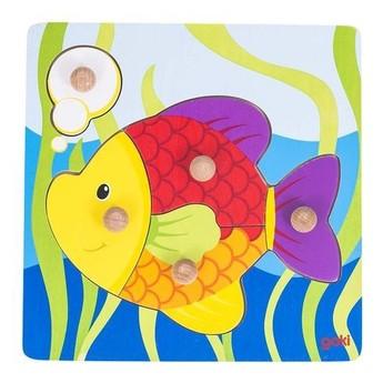 Puzzle - Rybička – puzzle s úchytkami