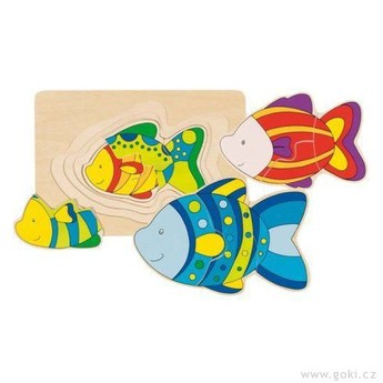 Puzzle - Vícevrstvé puzzle – Ryba
