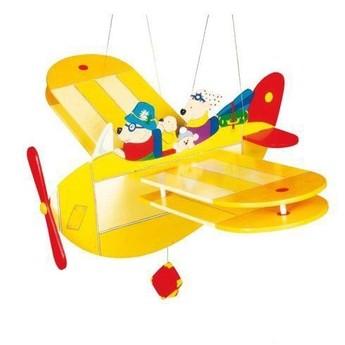 Dětský pokojíček - Dřevěné létající letadlo