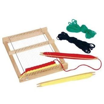Výtvarné a kreativní hračky - Dřevěný tkalcovský stav