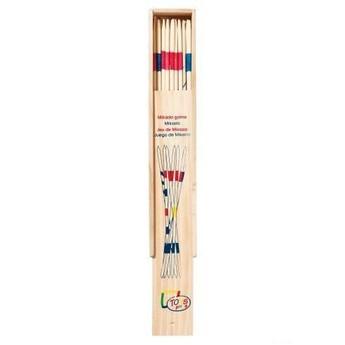 Hry a hlavolamy - Mikádo v dřevěné krabičce, 28 cm