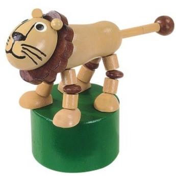 Motorické a didaktické hračky - Mačkací figurka Lev