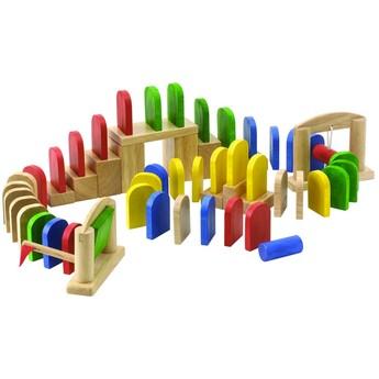 Dřevěné domino Klasik