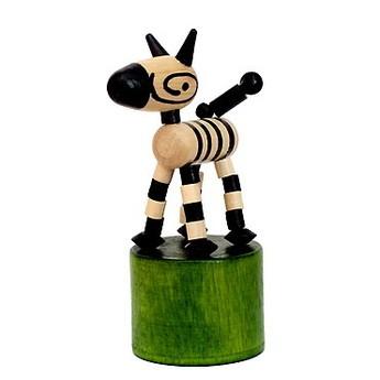 Mačkací figurka Zebra