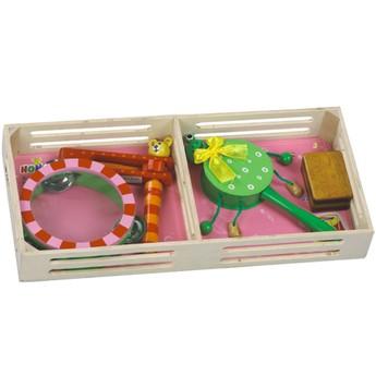 Dětské hudební nástroje - Sada hudebních nástrojů Žabička
