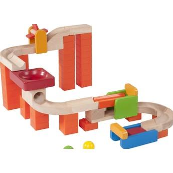 Motorické a didaktické hračky - Kuličková dráha TRIX - Kolotoč a Vír