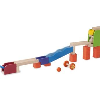 Motorické a didaktické hračky - Kuličková dráha TRIX - Válec a Kyvadlo