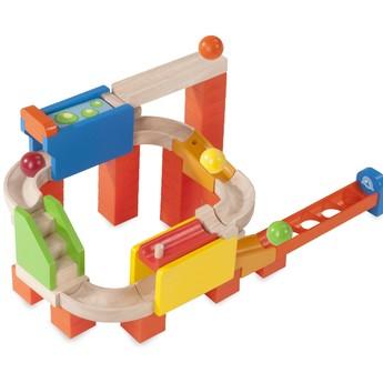 Motorické a didaktické hračky - Kuličková dráha TRIX - Dvojitá jízda