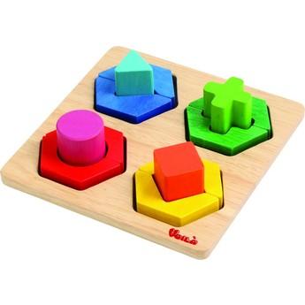 Motorické a didaktické hračky - Geometrické tvary malé
